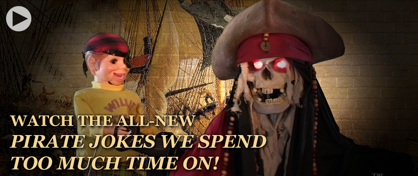 The Sven and Angus Show - Web Series - Pirate Jokes!